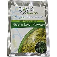 Davis Finest Premium Neem Leaf Polvere 100% Puro e Naturale