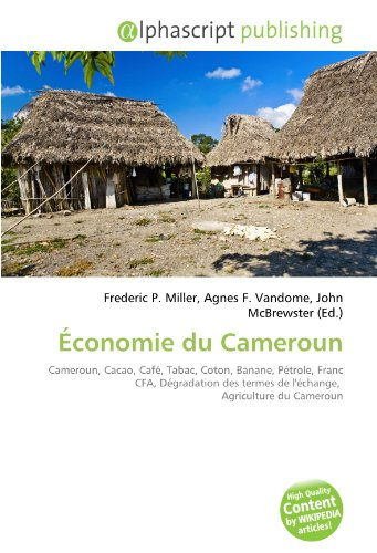 Économie du Cameroun: Cameroun, Cacao, ...