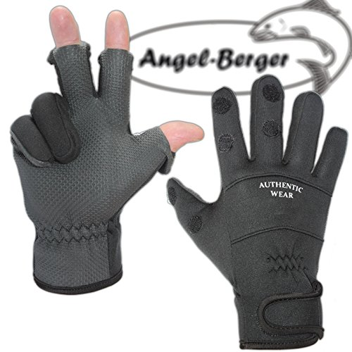 Premium Neoprenhandschuhe Angler Handschuhe (L)