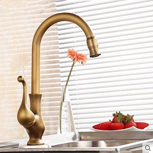 Küchenarmatur, Spültischarmatur Waschbecken, Vintage-Waschung Waschbecken Wasserhahn