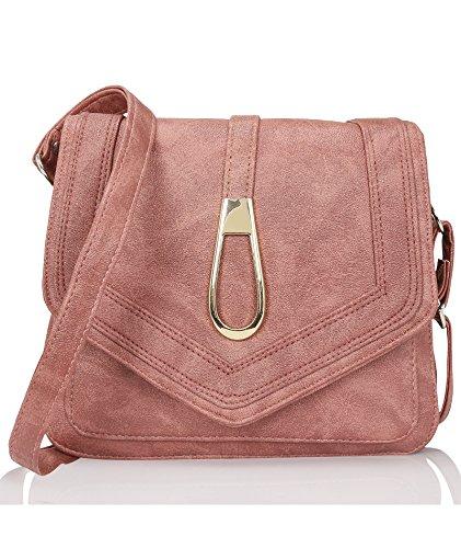 Kleio Women's Sling Bag( Burgundy,EDK1031KL-BG)