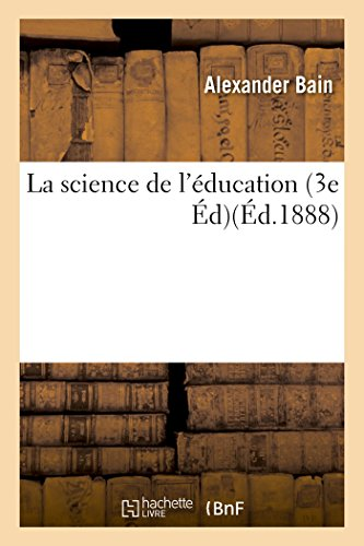 La science de l'ducation 3e d