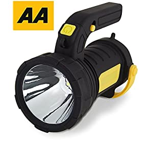 51bVwlxSBPL. SS300  - Emergency Lantern AA Car Essentials 2 in 1 Powerful Spot Torch with LED Camping Lantern for Travel, Hiking, Fishing - Flash Light