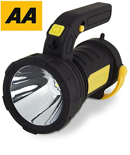 Emergency Lantern AA Car Essentials 2 in 1 Powerful Spot Torch with LED Camping Lantern for Travel, Hiking, Fishing - Flash Light