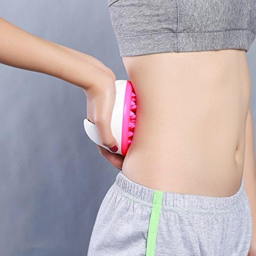 51bVx031PiL - Lunata® Rullo massaggiatore anti cellulite, spazzola per massaggi per combattere la pelle a buccia d'arancio