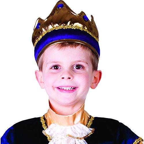 Dress Up America 698.0 Kinder glänzende vorzügliche König Krone, unisex-child, Lila, Einheitsgröße