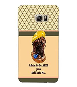 PrintDhaba Quote D-5815 Back Case Cover for SAMSUNG GALAXY NOTE 5 EDGE (Multi-Coloured)