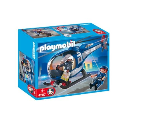 Playmobil 626019 - Police Helicopter Police