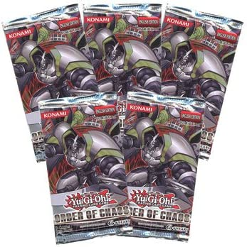 Yu-Gi-Oh Yu-Gi-Oh Yu-Gi-Oh Cards Zexal - Order of Chaos - Booster Packs (5 Pack Lot) [Toy] 2bfbea