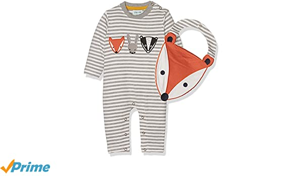 Lilly and Sid Baby-Jungen Hello Bear Set Bekleidungsset
