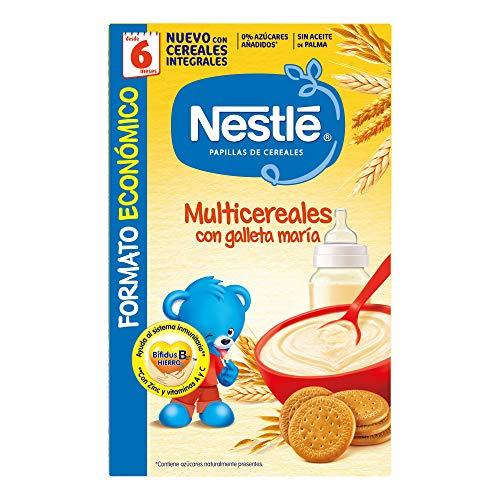 Nestlé - Multicereales galleta María - Papilla cereales