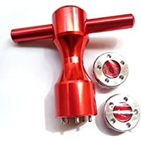 aquiver Golf Rojo pesos herramienta llave 5G ~ 20g Golf Custom pesos para TITLEIST Scotty Cameron mi niña Putters caliente, rojo
