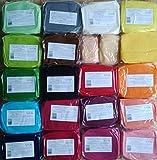 Rollfondant Icing Fondant Masse Tortendeko Tortendecke Alle Farben (250gr erdbeerrot)