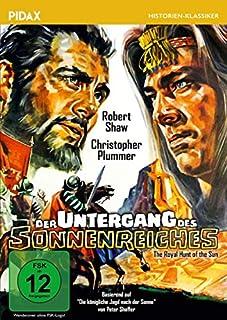Der Untergang des Sonnenreiches (The Royal Hunt of the Sun) / Abenteuerfilm um die Eroberung des Inkareiches mit Starbesetzung