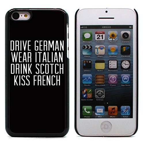 Graphic4You Like A Boss Design Harte Hülle Case Tasche Schutzhülle für Apple iPhone 5C Design #16