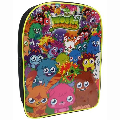 Image of Moshi Monsters Characters Backpack