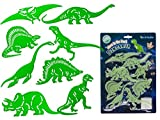Glow in the Dark Dinosaurier Wandsticker