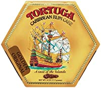 Tortuga Caribbean Rum Cake, 4 ounce Original Flavor