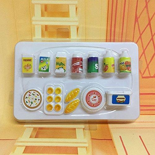MAJGLGE - Juego de 12 Pan de Cocina en Miniatura para Pastel de Pan para muñeca de Barbie - Color al Azar