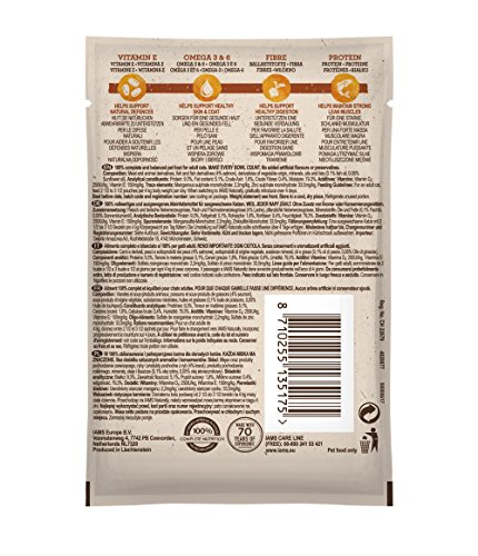 Iams Naturally Complete Land & Sea Collection Adult Cat Food Pouches, 12x85g 6