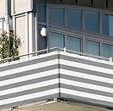 50x1,83m Balkon Sichtschutz Windschutz atmungsaktiv Modell ELECSA 360
