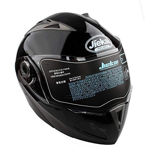 Casco Moto Modular Doble Visera Ciclomotor Motocicleta