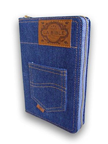 Bible Segond 21 : souple jeans, fermeture éclair