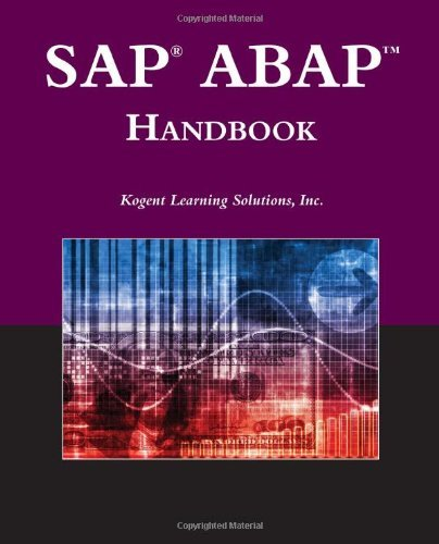 SAP?? ABAPTM Handbook (Jones and Bartlett Publishers SAP Book) by Inc., Kogent Learning Solutions (2009-10-29)