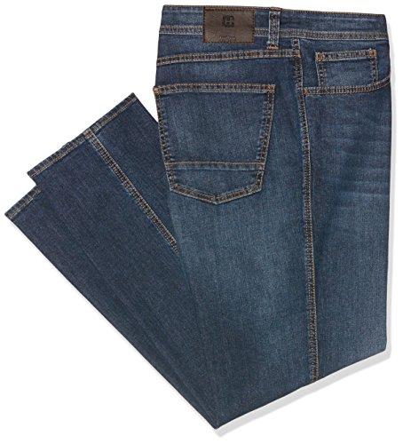 Hattric Herren Straight Jeans Blau (Blue Stone 42)