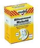 Molto Blitzzement -Moltofill Aussen- & Innen-Spachtelpulver, weiss, 1 kg