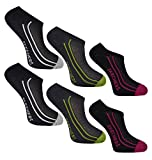 Skechers Ladies No Show Trainer Liner Socks 6 Pairs Size UK 4-7 EU 37-41 US 6.8-9.5