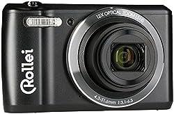 """Rollei Historyline 98 - Kompaktkamera (Digitalkamera) mit 20 Megapixel, 2,7"""" (6,8 cm) TFT-Farbmonitor und eine HD Videoauflösung 720p/30fps, inkl. WiFi - Schwarz"""
