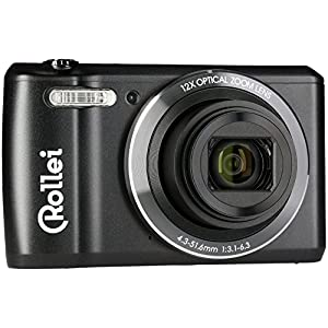 "Rollei Historyline 98 - Compact camera (digital camera) with 20 megapixels, 2.7"" (6.8 cm) TFT colour display and HD video 720p/30 fps, incl. WiFi - Black"