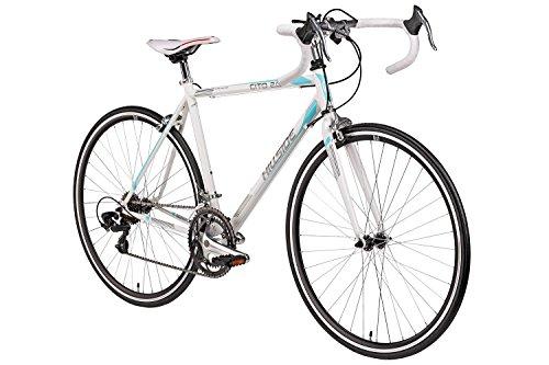 Rennrad 28 Zoll Hillside Cito 2.0 in weiß Fahrrad 700C Hillside Cito 2.0 Bike 14 Gang Shimano Schaltung 56 cm Rahmenhöhe
