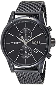 Hugo Boss Mens Quartz Watch, Chronograph Display and Stainless Steel Strap 1513769