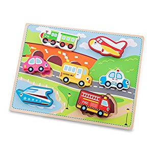 New Classic Toys 10520-Transporte Puzzle