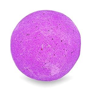 BIG Fizzy Bath Bomb Think Pink – Riesen-Badekugel (240 g / 8.5 oz) | Hagebutte, mit ätherischem Geranium- und Rosenholzöl