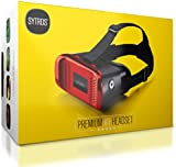 Sytros VR Headset with Magnetic Button Trigger for Smartphones.