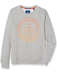 TOM TAILOR Kids Jungen Sweatshirt Good Time Print Sweater