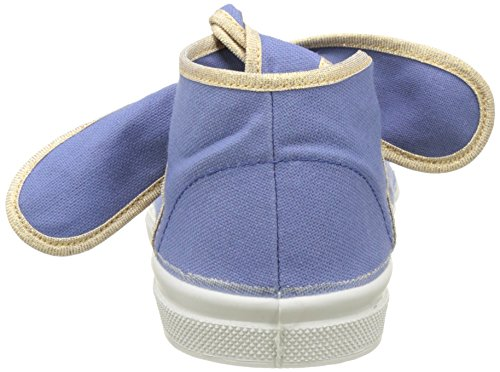 Bensimon Tennis Flo Shinypiping, Baskets Basses Femme Bleu (Denim)