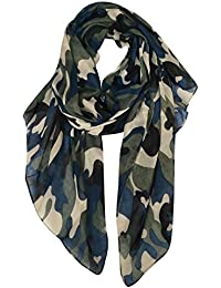 DAMILY Echarpes - Foulard Légère de Voyage Camouflage Imprimer Châle Wrap 0b8e648b9ba
