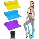 Trongle Lambony Bande Elastiche Fitness, 3 Livelli di Resistenza per Fisioterapia, Pilates, Yoga, Niabilitazione, Stretching,