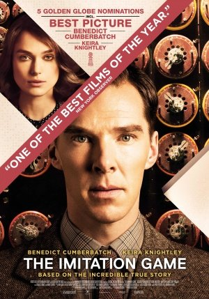 THE IMITATION GAME - Benedict Cumberbatch - Swiss Imported Movie Wall Poster Print - 30CM X 43CM Brand New (The Imitation Game Sheet Music)