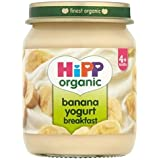 Hipp Banane Biologique Petit Yogourt 4 + Mois 125G - Lot De 2
