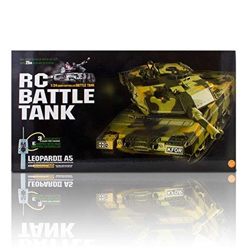 Ferngesteuerter R/C Panzer 1/24 Leopard II A5 -