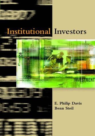 Institutional Investors (MIT Press) by E. Philip Davis (2004-01-30)