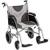 Drive Medical LAWC012A - Silla de ruedas (aluminio, diseño ultraligero, silla de 51 cm)