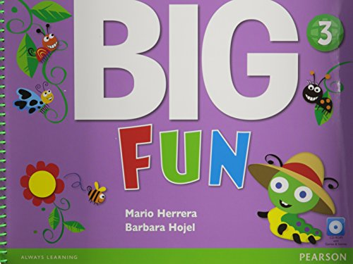 Big Fun 3 Student Book with CD-ROM
