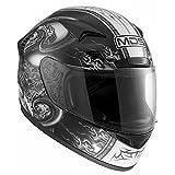 AGV Motorradhelm New Sprinter MDS E2205 Multi, Schwarz (Creature Schwarz), XS