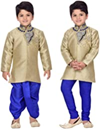 AJ Dezines Kids Ethnic Wear Kurta Dhoti Pant Set for Boys